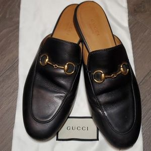 GUCCI Princetown Leather Slip On